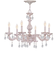 Picture for category Crystorama Lighting 5036-AW-CL-MWP Chandeliers Sutton