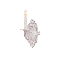 Picture for category Crystorama 5111-AW Paris flea market Wall Sconces 7in Antique White 1-light