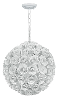 Picture for category Crystorama 537-WW Cypress Mini Chandeliers 14in Wet White Wrought Iron 1-light