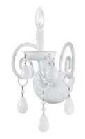 Picture for category Crystorama 1071-WW-WH-MWP Envogue Wall Sconces 10in Wet White Glass 1-light