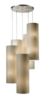 Picture for category Elk 20160/20R Fabric cylinders Pendants 33in Satin Nickel 20-light