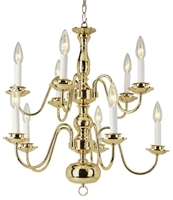Picture for category Trans Globe Lighting 1010-1 PB Chandelier Back to basics