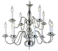 Picture for category Trans Globe Lighting 1012-1 BN Chandelier Back to basics