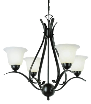 Picture of Trans Globe Lighting 9280 ROB Chandelier from the Contemporary   Collection