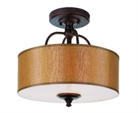 Picture for category Trans Globe 9620 Modern meets traditional Semi Flush 16in Rubbed Oil Bronze