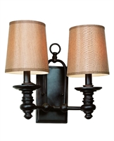 Picture for category Trans Globe 9622 Modern meets traditional Wall Sconces 14in Rubbed Oil Bronze