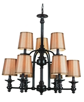 Picture for category Trans Globe 9629 Modern meets traditional Chandeliers 29in Rubbed Oil Bronze