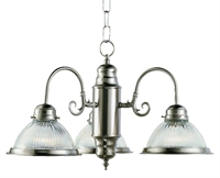 Picture of Trans Globe Lighting 1095 BN Chandelier from the Back to basics collection