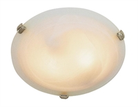 Picture for category Trans Globe 58700 WH Back to basics Flush Mounts 12in White Metal 2-light