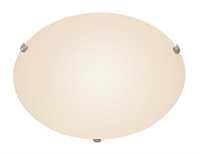 Picture for category Trans Globe 58708 WH Back to basics Flush Mounts 20in White Metal 4-light