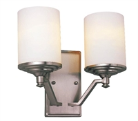 Picture for category Trans Globe 7922 BN Young hip Wall Sconces 12in Brushed Nickel Metal 2-light