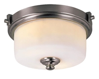 Picture for category Trans Globe 7923 BN Young hip Flush Mounts 14in Brushed Nickel Metal 2-light