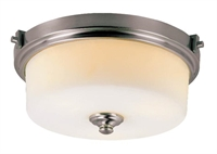 Picture for category Trans Globe 7924 BN Young hip Flush Mounts 17in Brushed Nickel Metal 2-light