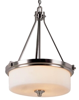 Picture for category Trans Globe 7927 BN Young hip Pendants 20in Brushed Nickel Metal 3-light