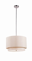 Picture for category Trans Globe PND-802 TP Young hip Pendants 18in Brushed Nickel Metal 3-light