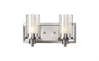 Picture for category Trans Globe 20042 Modern meets traditional Wall Sconces 14in Brushed Nickel