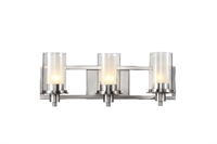 Picture for category Trans Globe 20043 Modern meets traditional Bath Lighting 22in Brushed Nickel