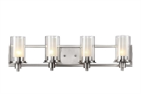 Picture for category Trans Globe 20044 Modern meets traditional Bath Lighting 30in Brushed Nickel