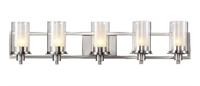 Picture for category Trans Globe 20045 Modern meets traditional Bath Lighting 38in Brushed Nickel