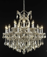 Picture for category Elegant Lighting 2800D30GT-GT/RC Chandeliers Maria theresa