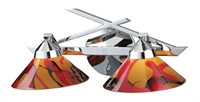 Picture for category Elk 1471/2JAS Refraction Vanity Lighting 16in Polished Chrome 2-light