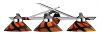 Picture for category Elk 1472/3JAS Refraction Vanity Lighting 25in Polished Chrome 3-light