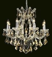 Picture for category Elegant Lighting 2800D26C-GT/SS Chandeliers Maria theresa