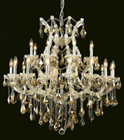 Picture for category Elegant Lighting 2800D36C-GT/SS Chandeliers Maria theresa