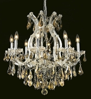 Picture for category Elegant Lighting 2801D26C-GT/SS Chandeliers Maria theresa