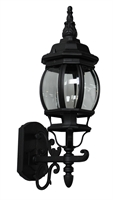 Picture for category Artcraft AC8090BK Classico Outdoor Lighting Lamps 6in Black Cast Aluminum