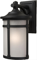 Picture for category Artcraft AC8631BK St moritz Outdoor Lighting Lamps 8in Black Cast Aluminum