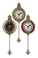 Picture for category Uttermost 06046 Primo Clock 4in Mdf Brass Aluminum