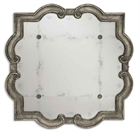 Picture for category Uttermost 12597 P Primo Mirrors 36in Wood & Mirror