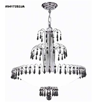 Picture for category James R. Moder 94172S2JA Black tie Chandeliers 22in