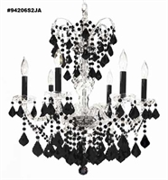 Picture for category James R. Moder 94206S2JA Black tie Chandeliers 26in