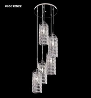 Picture for category James R. Moder 95012S2B Tekno mini bravo Chandeliers 15in