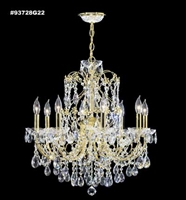 Picture for category James R. Moder 93728S44 Christina Chandeliers 24in