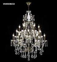Picture for category James R. Moder 94560BZ11 Charleston Chandeliers 33in