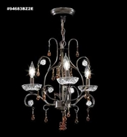 Picture for category James R. Moder 94683BZ2E Mini chandeleir Chandeliers 15in