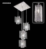 Picture for category James R. Moder 95052S2B Tekno mini bravo Chandeliers 13in