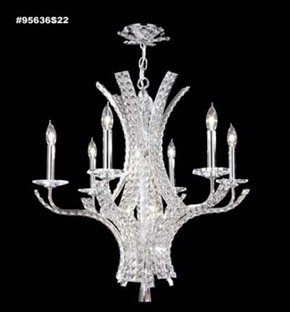 Picture of James R. Moder 95636S22 Eclipse Chandeliers 26in