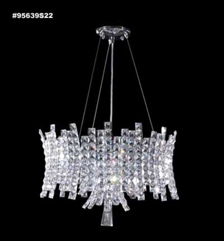 Picture of James R. Moder 95639S22 Eclipse Chandeliers 22in