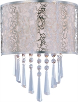 Picture for category Maxim 22297WTSN Rapture Wall Sconces 10in