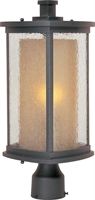 Picture for category Maxim 3150CDWSBZ Bungalow Outdoor Post Light 8in