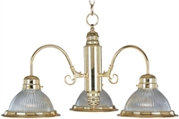 Picture of Maxim Lighting 91193CLPB chandelier from the Builder basics collection