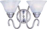Picture for category Maxim 12067MRSN Newport Bath Lighting 17in