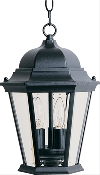 Picture of Maxim 1009BK Transitional Outdoor Deck Lantern 9in