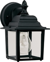 Picture for category Maxim 1025BK Builder cast Outdoor Wall Sconces 6in