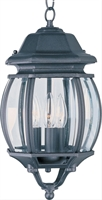 Picture for category Maxim 1036BK Crown hill Outdoor Deck Lantern 8in
