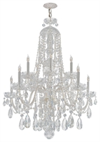 Picture for category Crystorama Lighting 1110-CH-CL-S Chandeliers Traditional crystal